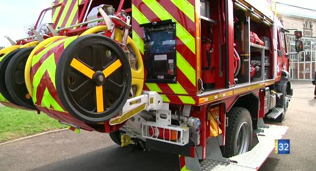 Canal 32 - Les pompiers se dotent de neuf nouveaux véhicules