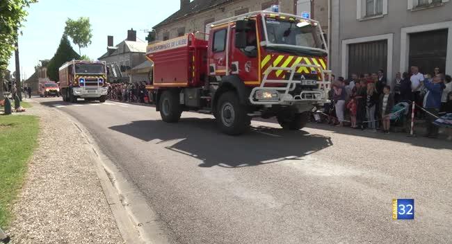 Canal 32 - Marcilly-le-Hayer : les pompiers aubois célèbrent leur engagement