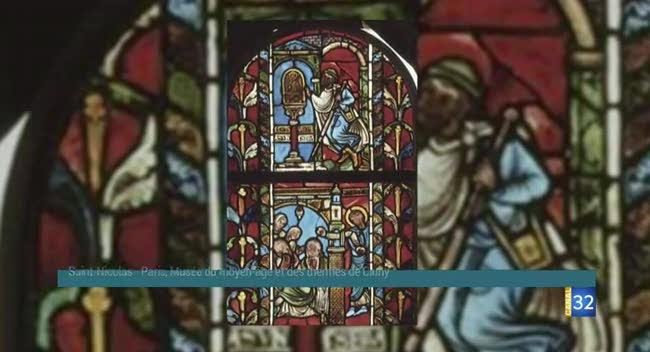 Canal 32 - Les rencontres de la Cité du Vitrail : les vitraux troyens du XIIème siècle