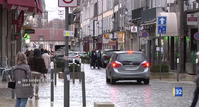 Canal 32 - Le coup d'envoi des soldes d'hiver dans l'Aube