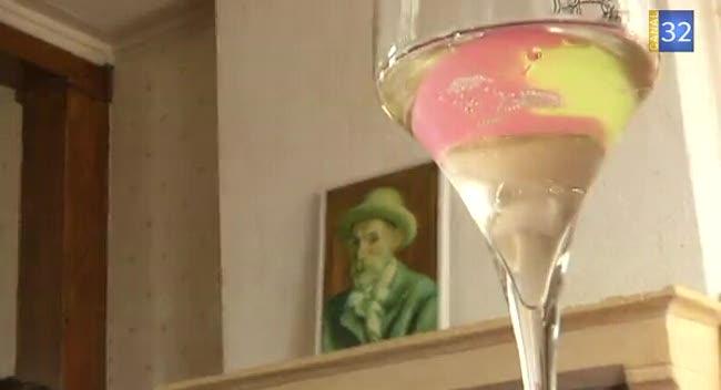 Canal 32 - Les tableaux Renoir mariés au Champagne