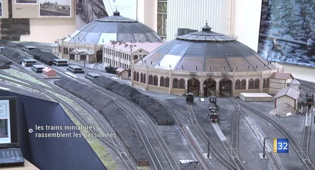 Canal 32 - La Chapelle Saint-Luc : les trains miniatures rassemblent les passionnés