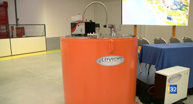 Canal 32 - Rosières : Levisys a vendu son premier volant d'inertie à une entreprise auboise