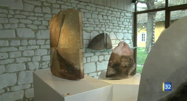 Canal 32 - L'expo de la semaine : sculptures à la galerie Artes