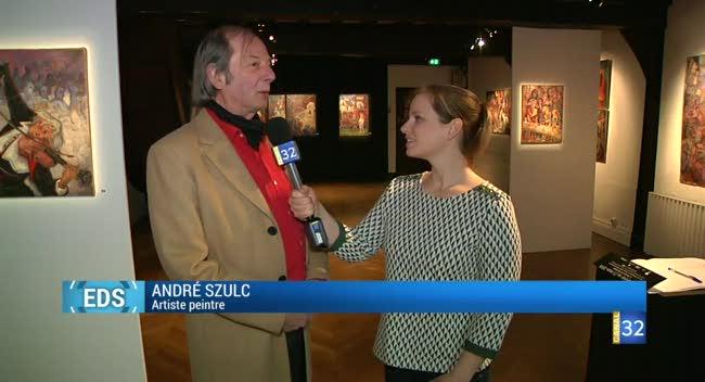 Canal 32 - L'exposition de la semaine : André Szulc à La Maison du Boulanger
