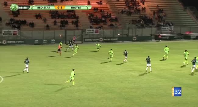 Canal 32 - Ligue 2 : L'Estac confirme face au Red Star (3-0). VIDEO