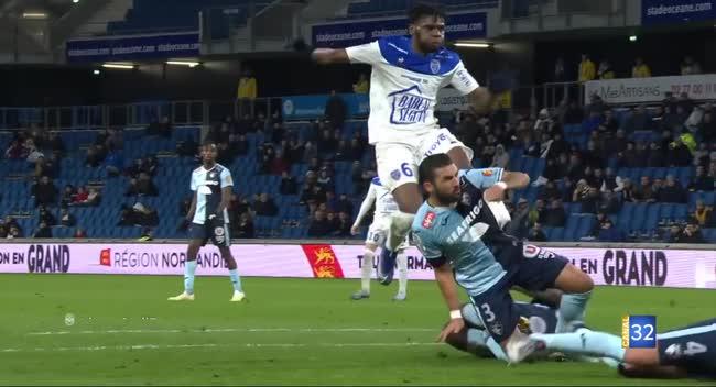 Canal 32 - Ligue 2 : l'Estac repart frustrée du Havre (1-0). Résumé Vidéo.