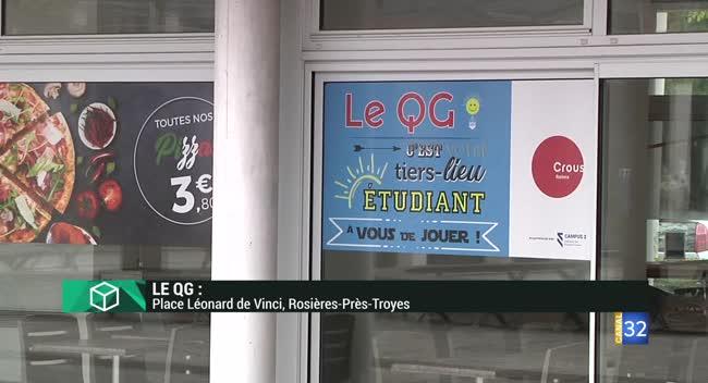 Canal 32 - L'Instant Étudiant : Le nouveau QG étudiant la Nuit Campus 3