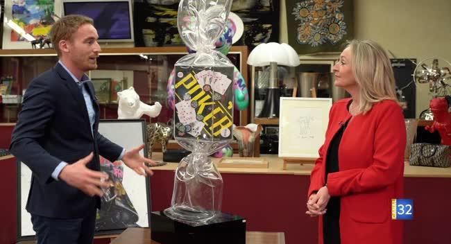 Canal 32 - L'objet d'une histoire - Bonbon géant de Laurence Jenkell