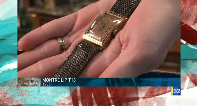 Canal 32 - L'objet d'une histoire - les montres LIP