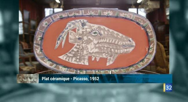 Canal 32 - L'objet d'une histoire - Picasso le céramiste