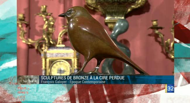 Canal 32 - L'objet d'une histoire - sculpture de bronze Galoyer