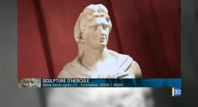 Canal 32 - L'objet d'une histoire - Sculpture d'Hercule