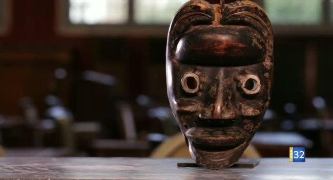 Canal 32 - L'objet d'une histoire - les masques africains