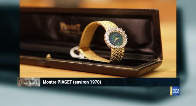 Canal 32 - L'objet d'une histoire - montre Piaget