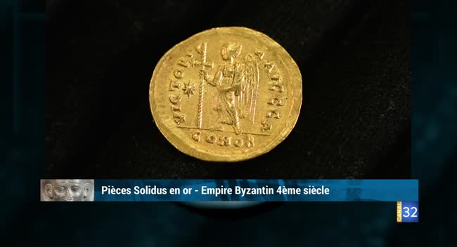 Canal 32 - L'objet d'une histoire - pièces de l'empire byzantin
