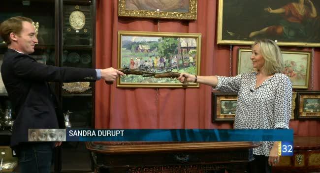 Canal 32 - L'objet d'une histoire - les pistolets de duel