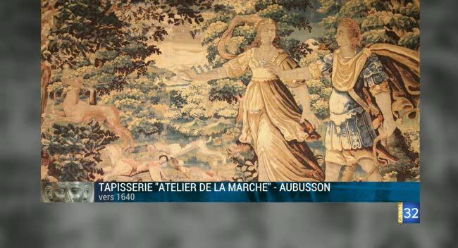 Canal 32 - L'objet d'une histoire - Une tapisserie des ateliers de la marche