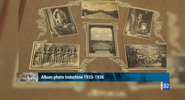 Canal 32 - L'objet d'une histoire - album photo sur l'Indochine des années 30