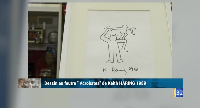 Canal 32 - L'objet d'une histoire - Keith Haring