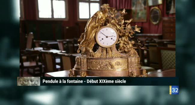 Canal 32 - L'objet d'une histoire - pendule à la fontaine