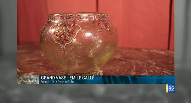 Canal 32 - L'objet d'une histoire - les vases d'Emile Gallé
