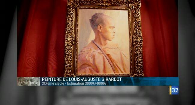 Canal 32 - L'objet d'une histoire - un tableau de Girardot