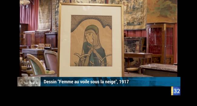 Canal 32 - L'objet d'une histoire - Oeuvres de Foujita