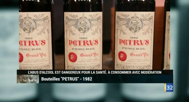 Canal 32 - L'objet d'une histoire - les vins Petrus