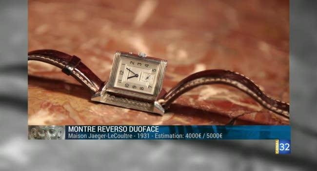 Canal 32 - L'objet d'une histoire - les montres Jaeger-LeCoultre
