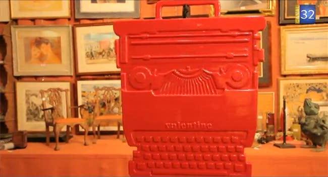 Canal 32 - L'objet d'une histoire - la machine à écrire
