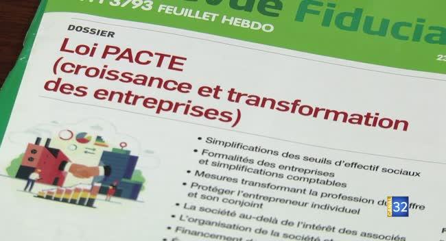 Canal 32 - Loi Pacte : ce qui va changer pour les entreprises
