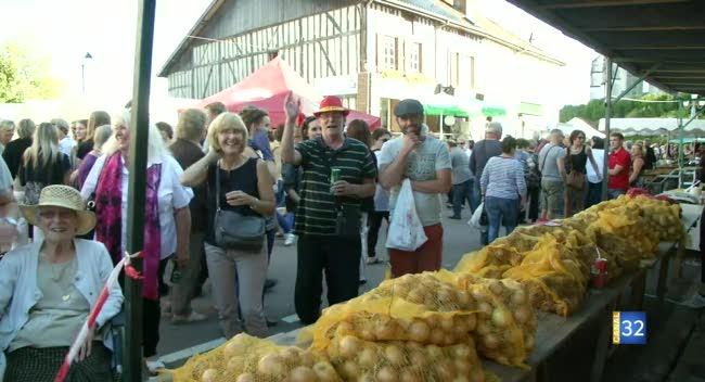 Canal 32 - L'oignon au coeur de la Foire de Chavanges (Reportage Complet)
