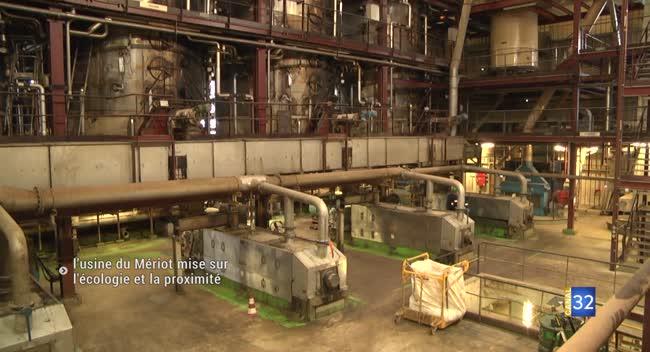 Canal 32 - Le Mériot : l'usine Saipol produit un carburant renouvelable avec le colza