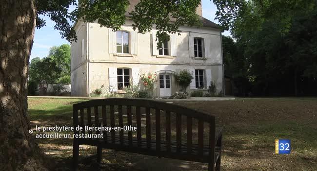 Canal 32 - Bercenay-en-Othe : l'ancien presbytère transformé en restaurant.