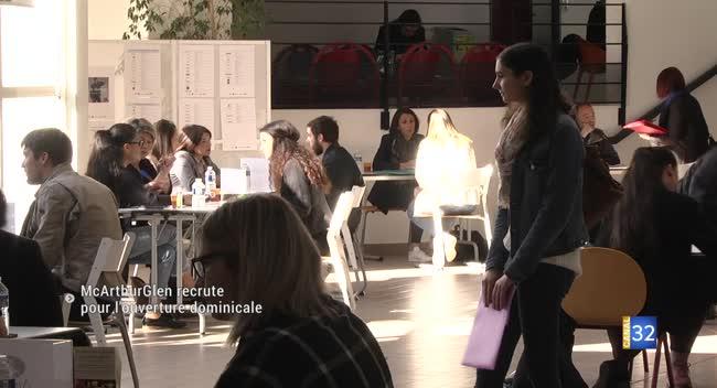 Canal 32 - Troyes : McArthurGlen se prépare à l'ouverture dominicale avec un job dating