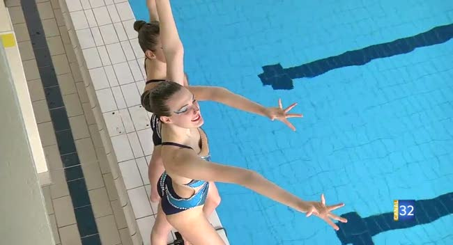 Canal 32 - Mag sports : Natation artistique