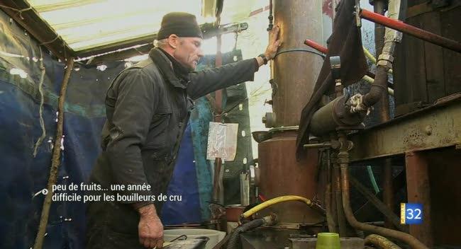 Canal 32 - Encore une maigre saison pour les bouilleurs de cru aubois