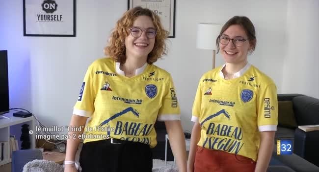 Canal 32 - Du jaune pour le troisième maillot de l'Estac !