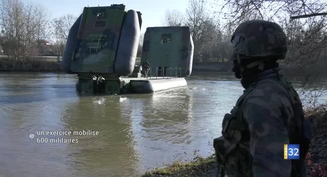Canal 32 - Mailly-le-Camp : 600 militaires mobilisés sur un exercice grandeur nature