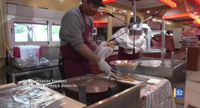 Canal 32 - Maison Delannoy : des churros et des pommes d'amour livrés à domicile