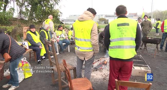 Canal 32 - Malgré la mobilisation en baisse, les Gilets Jaunes fêtent leur première année
