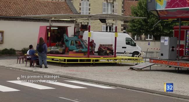 Canal 32 - Pouan-les-Vallées : les manèges ont repris du service !