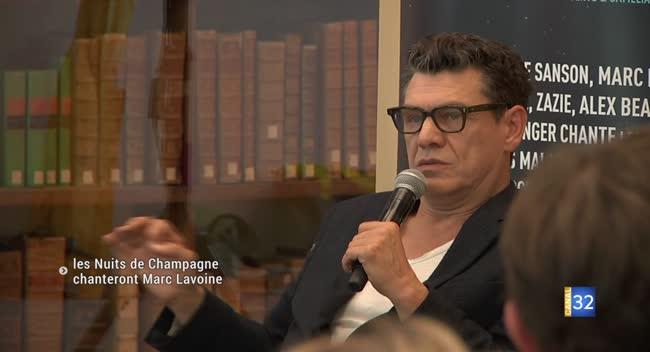 Canal 32 - Nuits de Champagne : Marc Lavoine présente la programmation