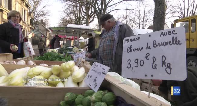 Canal 32 - Marché Jules-Guesde, le repaire des locavores depuis plus de 20 ans