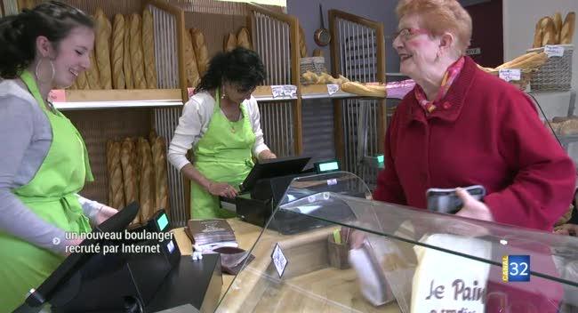 Canal 32 - Marcilly-le-Hayer : le nouveau boulanger recruté grâce à une annonce en ligne