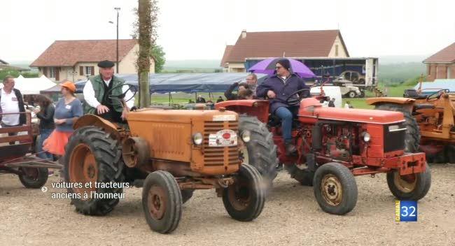 Canal 32 - Margerie-Hancourt : voitures d'exception et tracteurs anciens à l'honneur