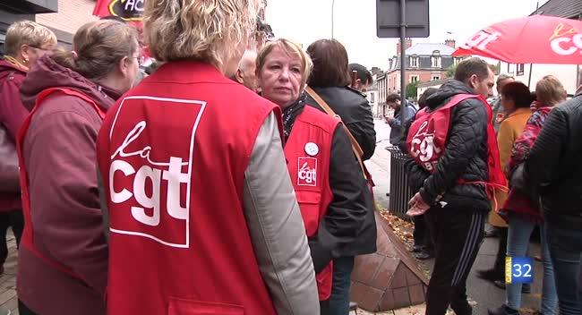 Canal 32 - Mauvaises conditions de travail : les agents de la CAF de Troyes disent stop