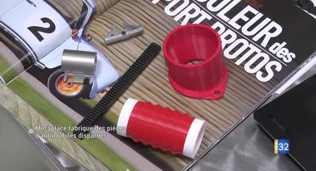 Canal 32 - Technopole : Mecaplace fabrique des pièces d'automobiles disparues