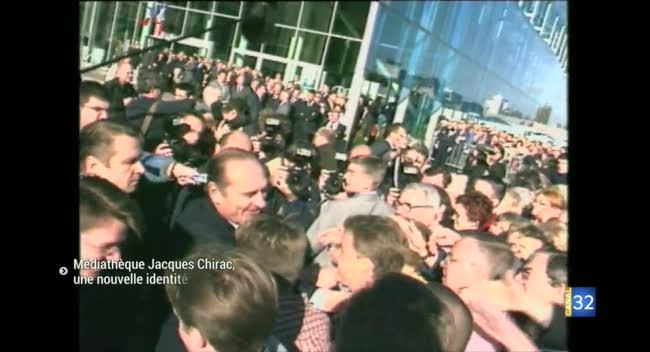 Canal 32 - Troyes : la Médiathèque s'appelle désormais Jacques Chirac